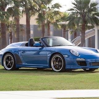 2011 Porsche 911 Speedster  classic car