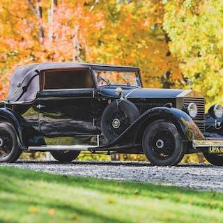 1927 Rolls-Royce 20 HP Drophead Coupe by Seegers et Sohn classic car