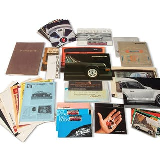 Porsche 911 Literature and Advertising classic car
