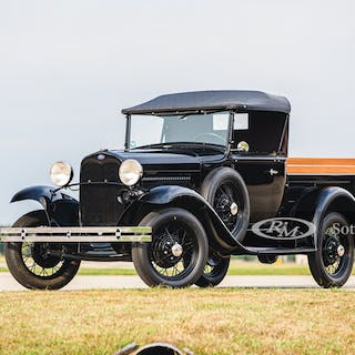 1930 Ford Model A Open Cab Pickup  classic car