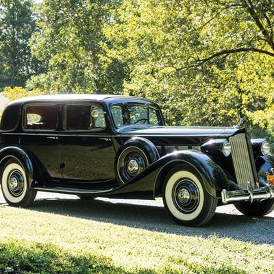 1936 Packard Super Eight Formal Sedan  classic car