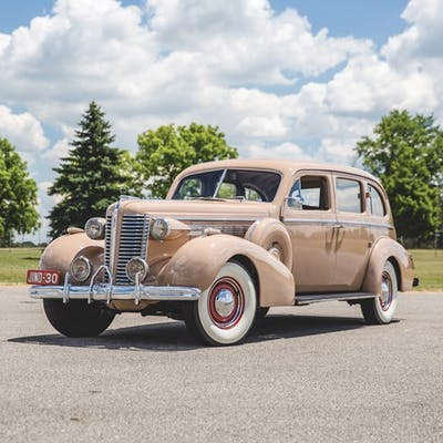1938 Buick Series 90 Limousine Right-Hand Drive  classic car