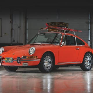 1969 Porsche 912 Coupe by Karmann classic car