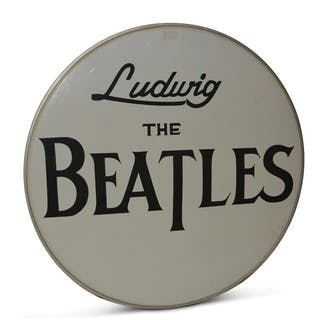 """""""Ludwig The Beatles"""" Drum Cover  classic car"""