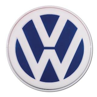 Volkswagen Dealership Large Plastic Sign classic car