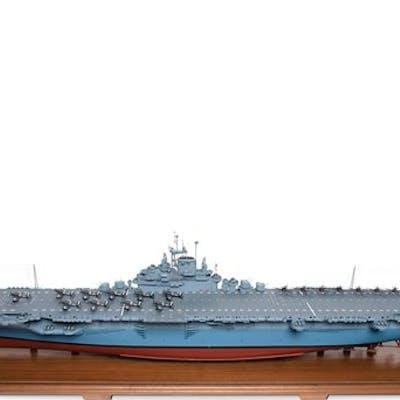 USS Intrepid Aircraft Carrier Model classic car | Barnebys