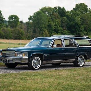 1979 Cadillac Fleetwood Brougham d'Elegance Station Wagon by R.S.