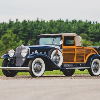 1931 Cadillac V-16 'Woodie' Convertible Coupe  classic car