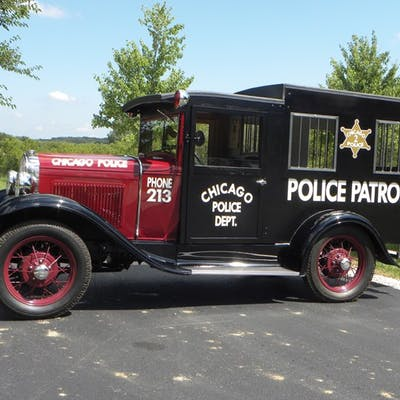 1931 Ford Model A Chicago Paddy Wagon  classic car