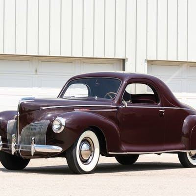 1940 Lincoln Zephyr Coupe  classic car