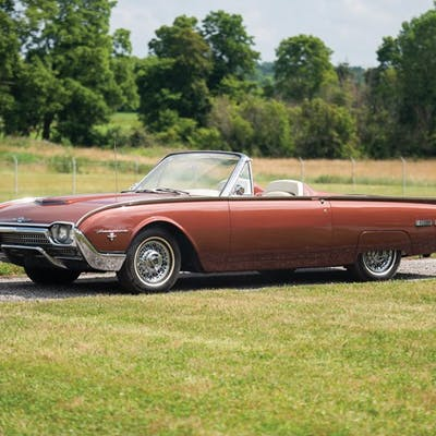 1962 Ford Thunderbird Convertible  classic car