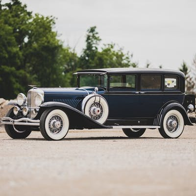 1931 Duesenberg Model J Limousine by Willoughby classic car