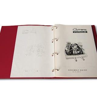 Porsche 356 Carrera Engine Assembly Guide, June 1963 classic car