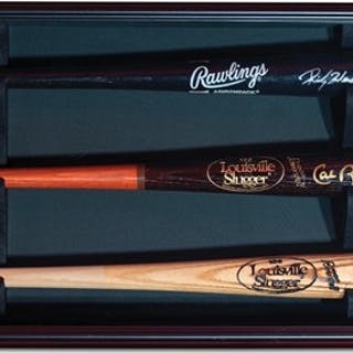 Ricky Henderson, Cal Ripken Jr. and Robin Yount Autographed Baseball