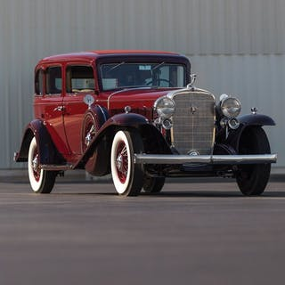 1932 Cadillac V-16 Five-Passenger Sedan by Fleetwood classic car