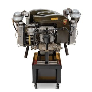 Porsche Helicopter Engine classic car