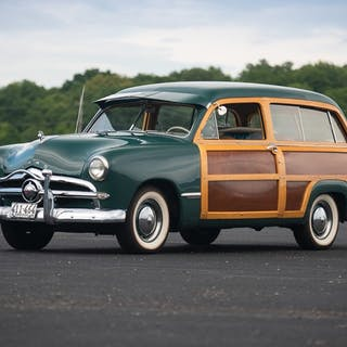 1949 Ford Custom Deluxe Station Wagon  classic car