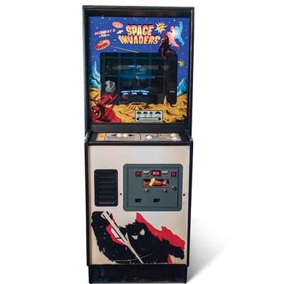 Space Invaders Arcade Game by Midway classic car