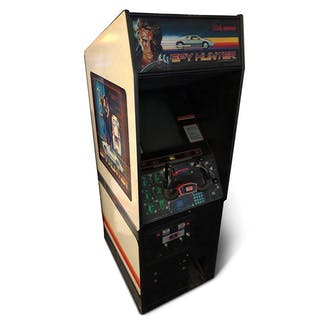 Spy Hunter Arcade Game by Bally Midway classic car