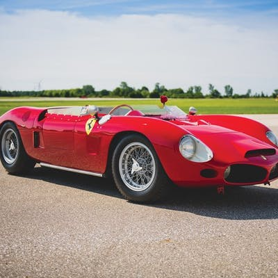 1962 Ferrari 196 SP by Fantuzzi classic car