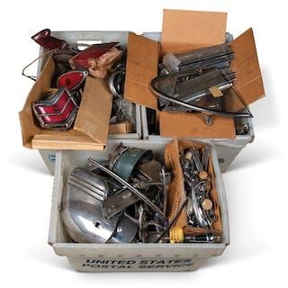 Assorted Vintage Parts classic car