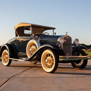 1931 Ford Model A DeLuxe Roadster  classic car