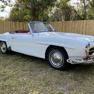 1962 Mercedes-Benz 190 SL  classic car