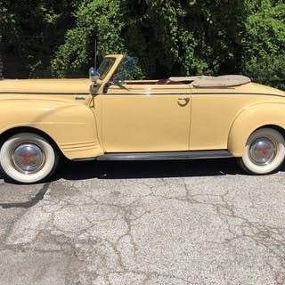 1941 Plymouth Super Deluxe Convertible  classic car