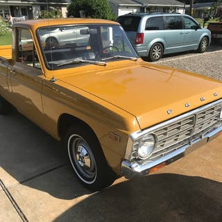 1974 Ford Courier Pickup  classic car