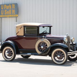 1931 Ford Model A Sport Coupe  classic car
