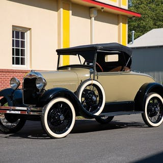 1928 Ford Model A Roadster  classic car