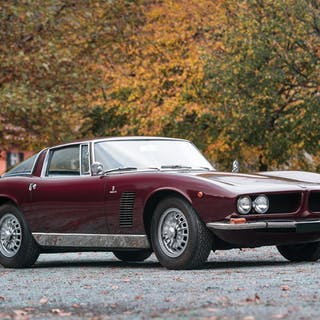 1967 Iso Grifo GL Series I by Bertone classic car