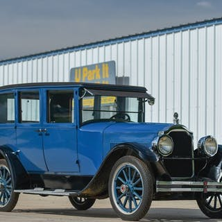 1923 Packard Series 126 Single Six Five-Passenger Sedan  classic car