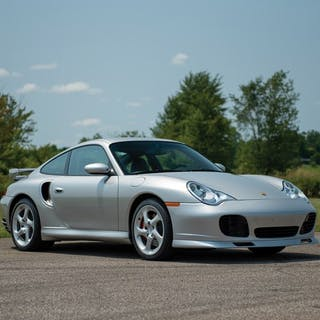 2002 Porsche 911 Turbo Coupe  classic car
