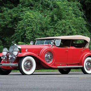 1930 Cadillac V-16 Sport Phaeton by Fleetwood classic car