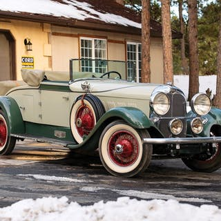 1929 Auburn 120 Cabriolet  classic car