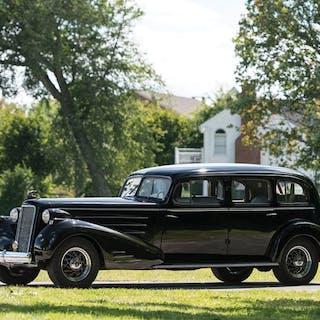 1937 Cadillac V-16 Seven-Passenger Limousine by Fleetwood classic car