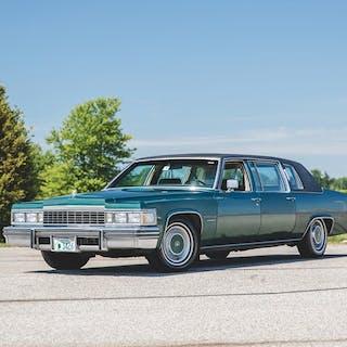 1977 Cadillac Fleetwood 75 Formal Sedan  classic car