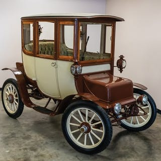 1909 Rauch & Lang Electric Coupe  classic car