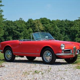 1966 Alfa Romeo Giulietta Spider by Pininfarina classic car