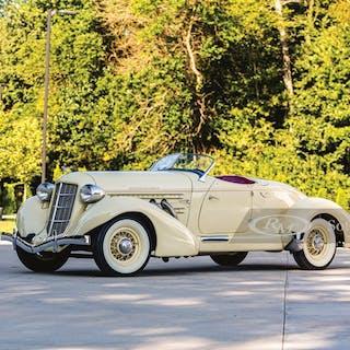1935 Auburn Eight Supercharged Speedster  classic car