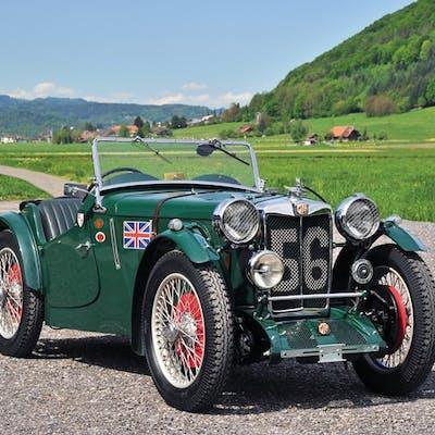 1934 MG PA/B Le Mans  classic car