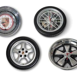 Porsche Wheel Clocks classic car