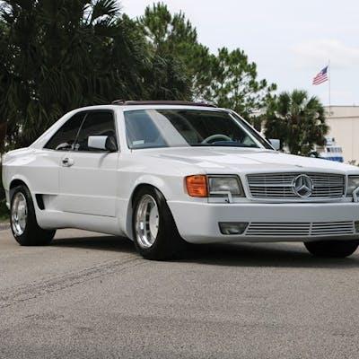 1987 Mercedes-Benz Autosalon 2000 Super Sport  classic car