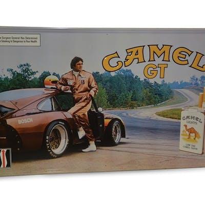 Camel GT Cigarettes Sign with IMSA Race Car classic car
