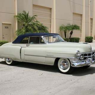 1950 Cadillac Series 62 Convertible Coupe  classic car