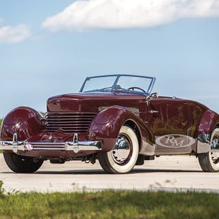 1937 Cord 812 Supercharged Cabriolet  classic car