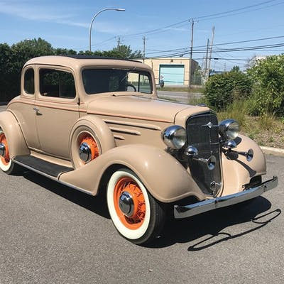 1934 Chevrolet Master Six Coupe  classic car