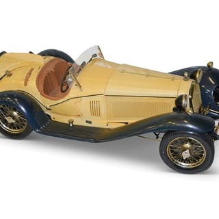 1932 Alfa Romeo Spider Touring Gran Sport 1932 Plastic Model classic car