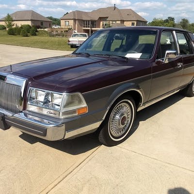 1984 Lincoln Continental Valentino  classic car